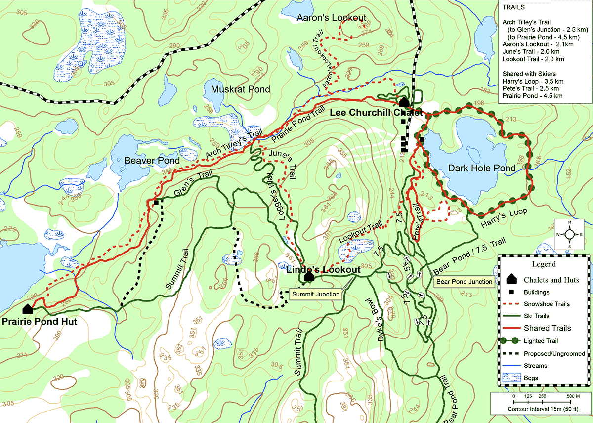 Snowshow Trail Map